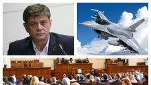 САМО В ПИК TV: Ген. Константин Попов разби БСП за F-16! Гечев има проблем с прочита на договора