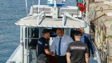 ПЪРВО В ПИК TV: Борисов подкара боен катер, обеща 10% скок на доходите (ОБНОВЕНА/СНИМКИ)