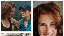"""ИЗТЪРВАХМЕ Я: Полицайката Донка от """"Дяволското гърло"""" става португалска снаха - актрисата Лидия Инджова емигрира в Брюксел"""
