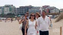 Ангелкова се хвали с приходи от плажни концесии