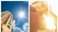 ЛЯТОТО ПОГНА ДЪЖДОВЕТЕ: Слънцето се установява трайно, термометърът скача до 30 градуса, но през уикенда....