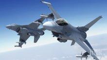 НАПРЕЖЕНИЕ В НЕБЕТО: Хърватски изтребители прихванаха израелски самолет