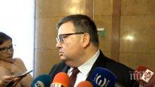 ПЪРВО В ПИК: Цацаров иска отмяна на гражданството на двама чужденци
