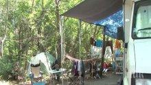 Апашите зарязаха Слънчев бряг, крадат вече цели каравани