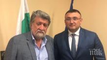 Вежди Рашидов и министър Маринов обсъдиха културния трафик