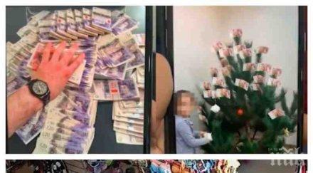 """Българската банда джебчийки """"Спайс гърлс"""" изби рибата: Кичат елхите си с банкноти от 50 паунда, диплят по 20 хил. на месец от улични обири"""