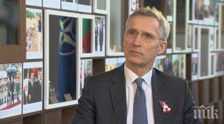 Генералният секретар на НАТО: Не е повдиган въпрос за изключването на Турция от Алианса