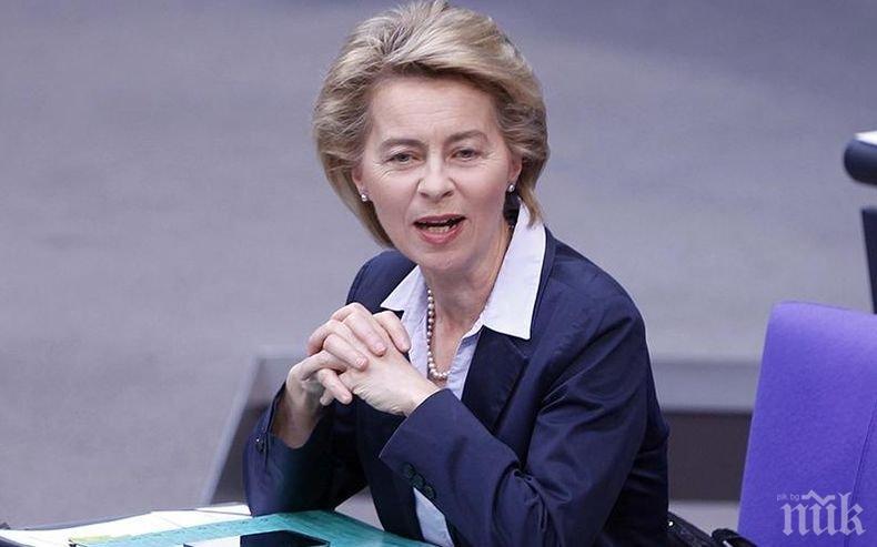 Разногласия: Евросоциалистите без единно решение за Урсула фон дер Лайен