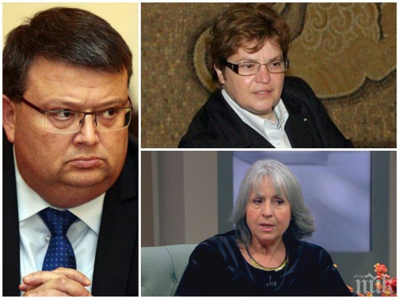 БИТКАТА ЗА ГЛАВЕН ПРОКУРОР: Куп жени напират да сменят Цацаров. Сред тях Тачева и Маргарита Попова. Гешев е безспорен фаворит