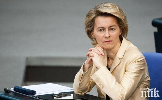 Гласуват Урсула фон дер Лайен за председател на ЕК (ОБНОВЕНА)
