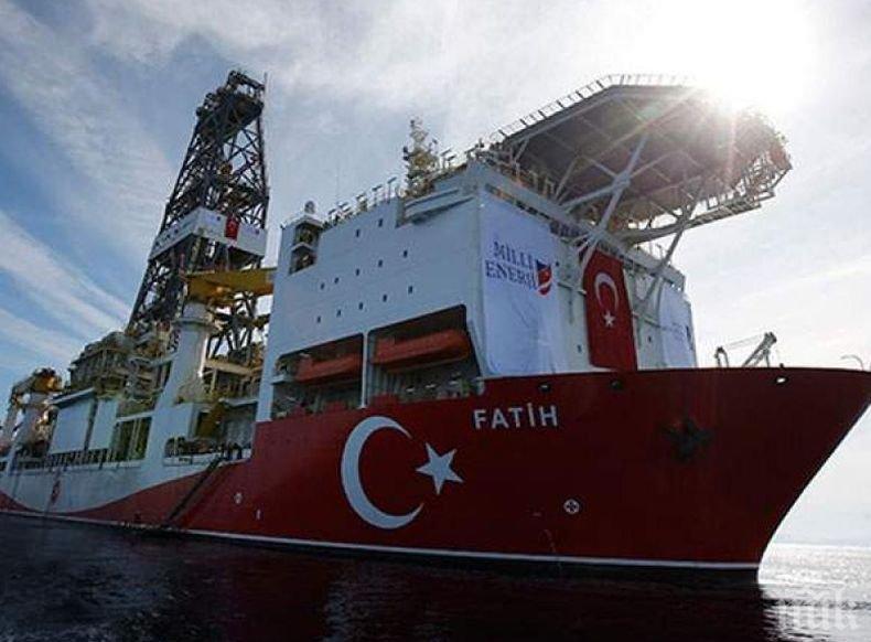 Санкции на ЕС срещу Турция заради сондиране край Кипър