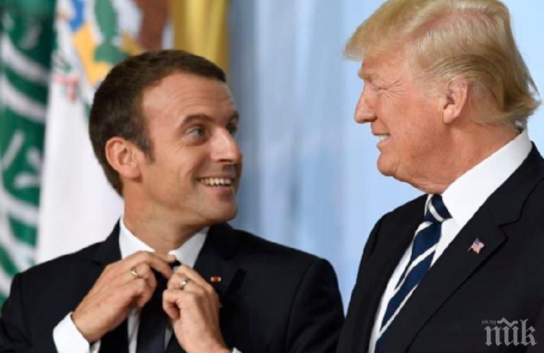 Президентът на Франция ще обсъди отношенията с Техеран в разговори с лидерите на Иран, Русия и САЩ