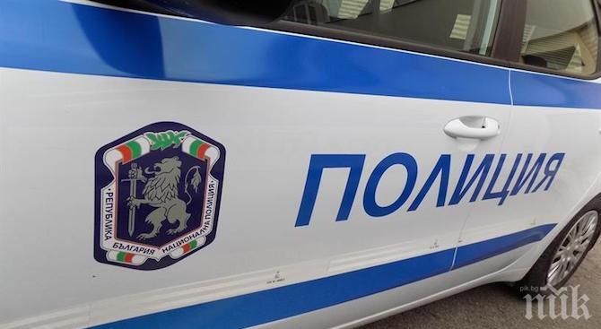 30-годишен заплаши полицаи в Пловдив, киха 300 кинта