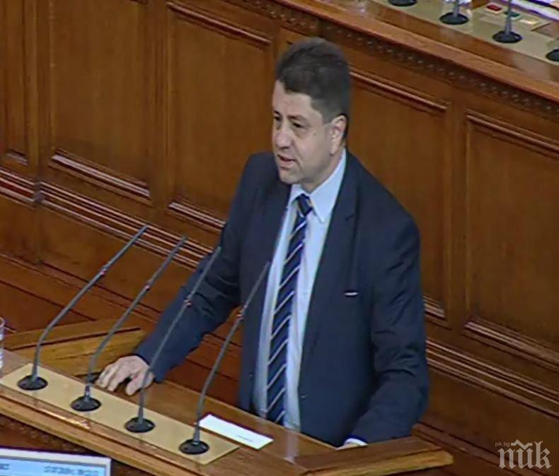 ПЪРВО В ПИК TV: Красимир Ципов се закле като депутат (НА ЖИВО)