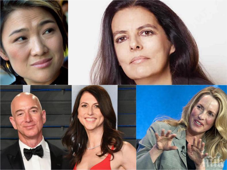 КЛАСАЦИЯ: Ето ги най-богатите жени в света