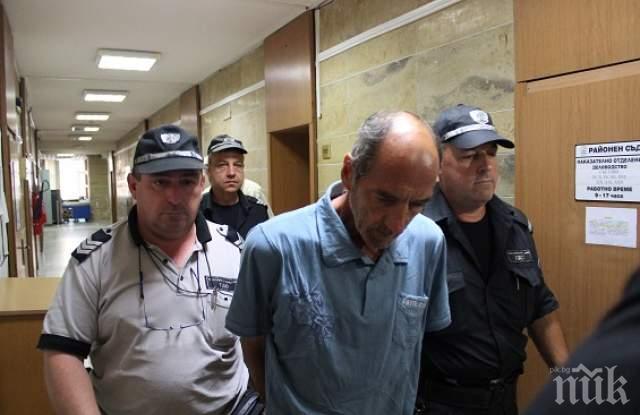 Оставиха в ареста Йордан, който закла сина си