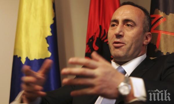 Рамуш Харадинай подаде оставка като премиер на Косово - отива на съд в Хага