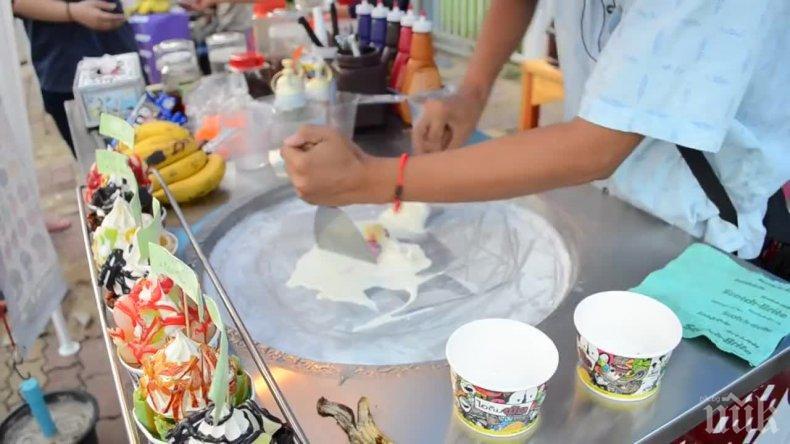 ОПАСНО: Откриха ешерихия коли в уличен сладолед