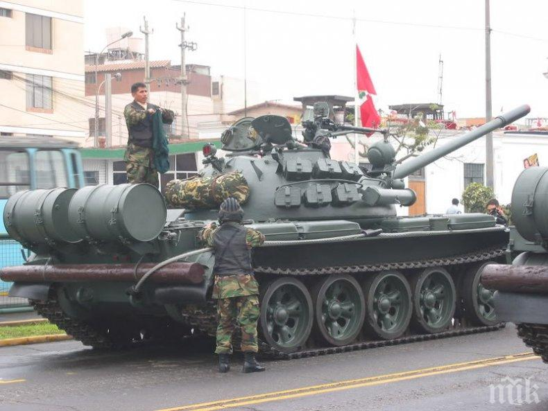 Търсят руски танк за кадър от филма за Наим Сюлейманоглу