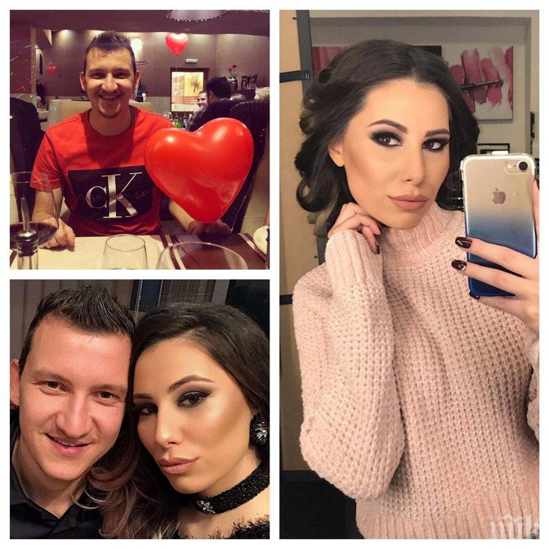 ГОРЕЩО: Футболно гадже възбуди Мрежата - вижте секси формите на годеницата на Тодор Неделев (СНИМКИ)