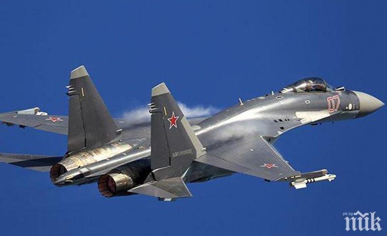 Русия готова да достави на Турция изтребители Су-35