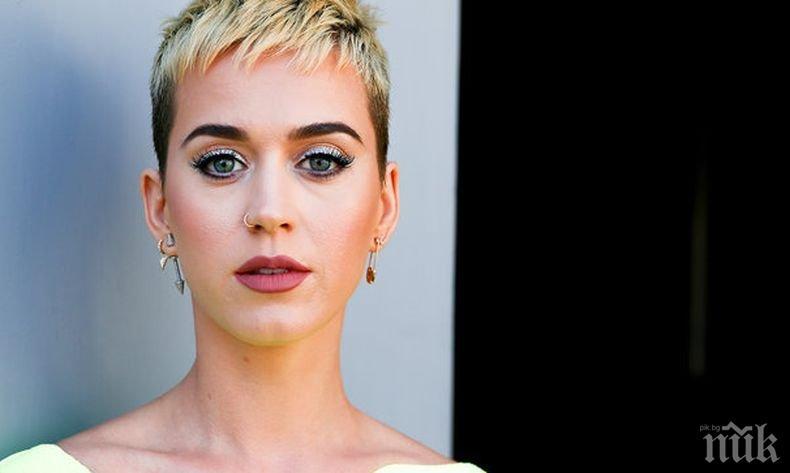 Нетрадиционно: Певицата Кейти Пери бори стареенето с ...