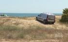 ПЪЛНА ИДИОТИЯ: Джипове и коли налазиха и плажа край Шкорпиловци - газят безогледно дюните (СНИМКИ)