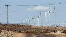 Откриха най-големия вятърен парк в Африка