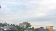 """ИЗВЪНРЕДНО В ПИК: Верижна катастрофа блокира АМ """"Тракия"""" (СНИМКИ)"""