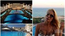 ПЪРВО В ПИК! Венета Райкова отмаря за 5 бона на турската Ривиера - ето кой заведе водещата на скъпарска почивка (СНИМКИ)