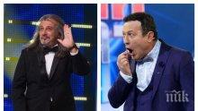 САМО В ПИК: Димитър Рачков напуска телевизията и братя Халваджиян - ето какво се случва с комика