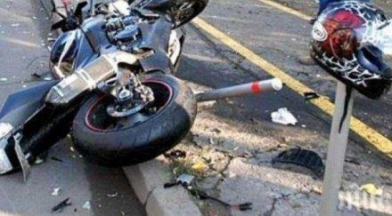Моторист се потроши в центъра на Варна, шокира жриците на любовта
