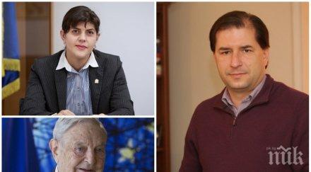 САМО В ПИК: Борислав Цеков с унищожителен коментар за Лаура Кьовеши: Тя е фалшив герой на соросоидите! В Румъния е неуспешна и се провали