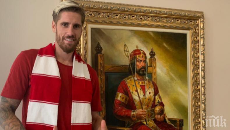 Спешни мерки: ЦСКА-София се подсили с испански бранител