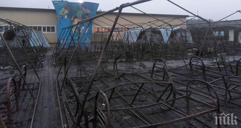 Станаха ясни подробности за пожара в детския палатков лагер в Хабаровския край