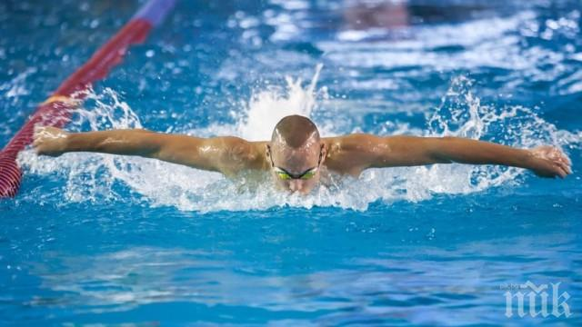 Антъни Иванов не успя да пребори конкуренцията на 200 м бътерфлай