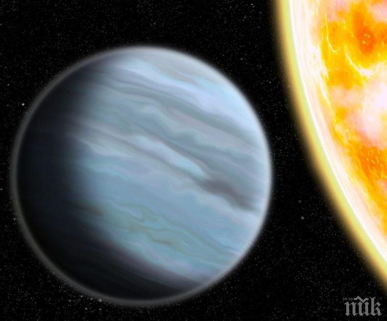 """Откриха """"пухкава"""" екзопланета с плътността на стиропор"""