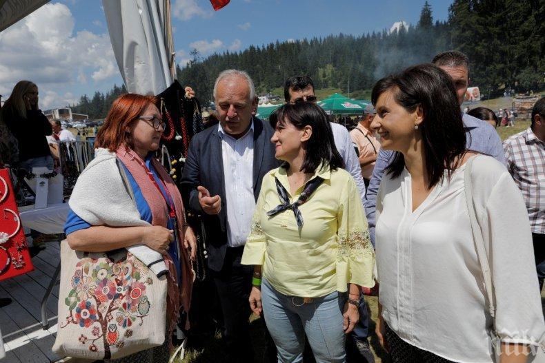 Цвета Караянчева: Роженският събор е красноречиво доказателство, че българският дух е жив