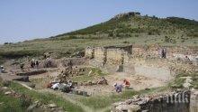Български и полски археолози проучват надгробна могила край Ямбол
