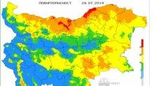 ОПАСНО: Екстремален индекс за пожари в областите Плевен и Русе (КАРТА)