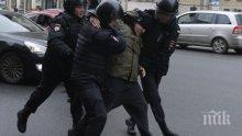 ЕС с критики към Москва за масовите арести на протестите
