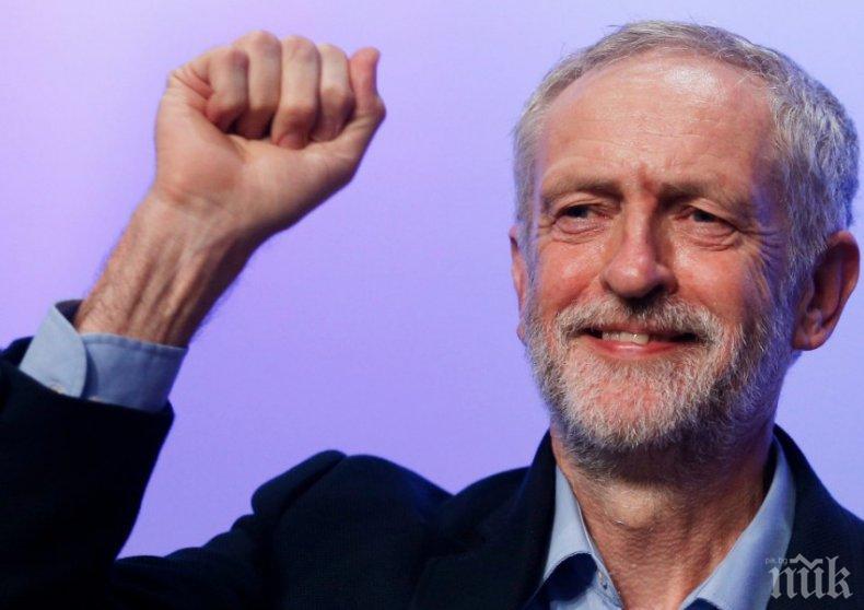 Хората на Джереми Корбин се заканиха да направят всичко възможно да предотвратят Брекзит без сделка