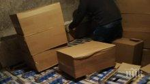 РЕКОРД: Откриха 100 хил. къса нелегални цигари в автобус