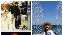 ПЪРВО В ПИК: Татяна Лолова в крак с модата - вижте как 85-годишната комедиантка чати със смартфон (СНИМКИ)