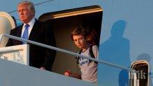 Ето с какъв подарък властите в Монголия изненадаха малкия син на Доналд Тръмп</p><p> </p><p>