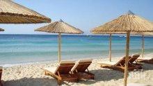 СТРАШЕН НАПЛИВ: Плажовете в Гърция претъпкани, сянката е кът