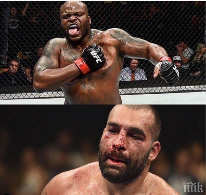 Багата се изправя срещу Черния звяр - победа го тласка към върха на UFC