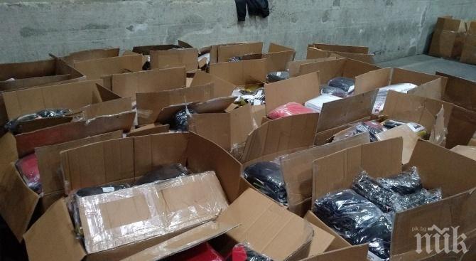 Иззеха стока за над 30 000 лв. от магазини за дрехи в Златните