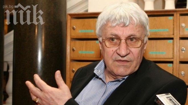 Историкът проф. Андрей Пантев: Защо няма протести пред офиси на олигарсите?