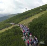 Влогър брои 5 хилядарки глоба - организирал масово изкачване на Мусала